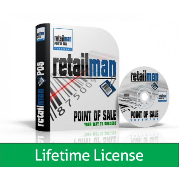 RetailMan POS: Lifetime license